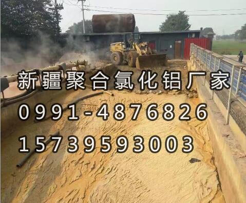 新疆聚合氯化铝厂家跑道池