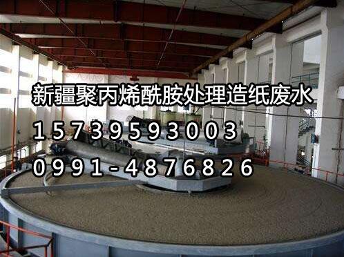 新疆聚丙烯酰胺厂家调试造纸废水心得